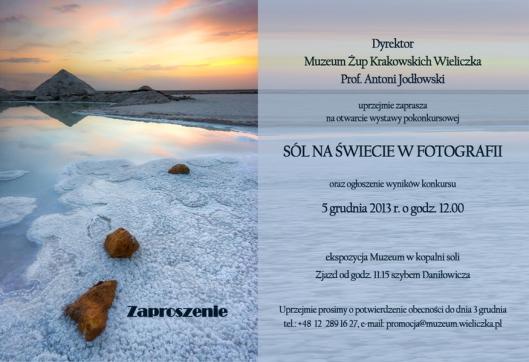 Zaproszenie_Sól na świecie w fotografii