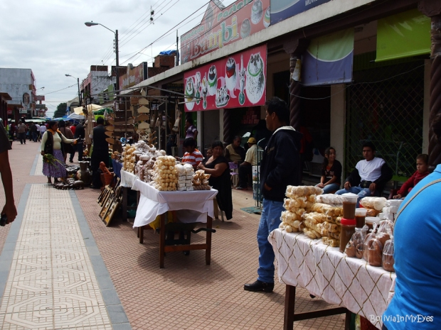 Sunday market in Cotoca