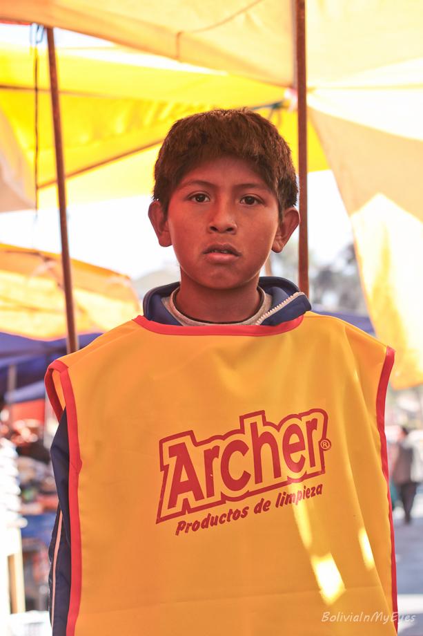 child labour in Bolivia